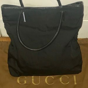 Auth Gucci Gorgeous Classic Black shoulder bag